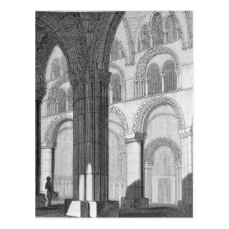 View of Durham Cathedral Nave Postcard