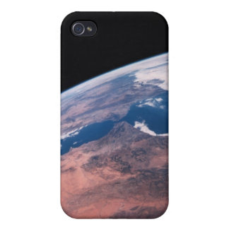 View of Earth from Space iPhone 4 Covers