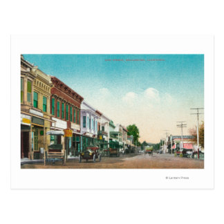 View of East StreetHealdsburg, CA Postcard
