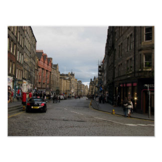 View of Edinburgh Poster