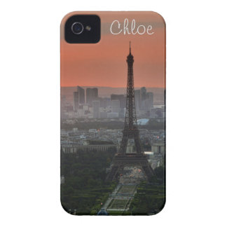 View of Eiffel Tower, Paris France iPhone 4 Case-Mate Cases
