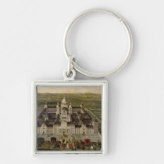 View of El Escorial Keychain