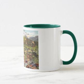 View of Estes Park Colorado Vintage Mug