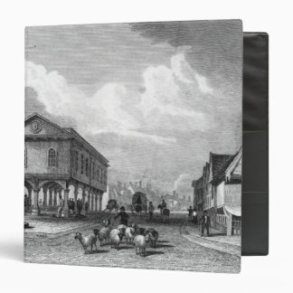 View of Faversham, Kent, 1832 3 Ring Binder