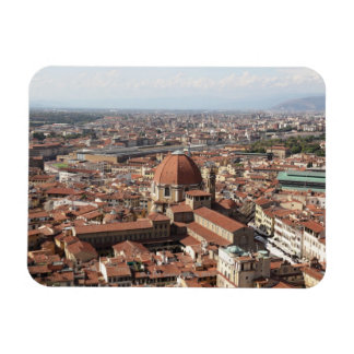 View of Florence, Italy from the top of the Magnet