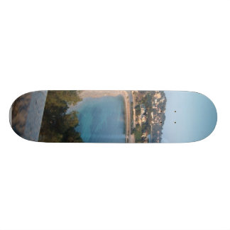 View Of French Coast Skate Deck