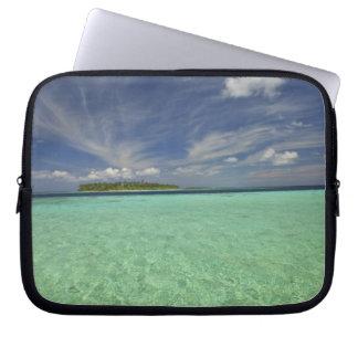 View of Funadoo Island from Funadovilligilli 2 Laptop Sleeves