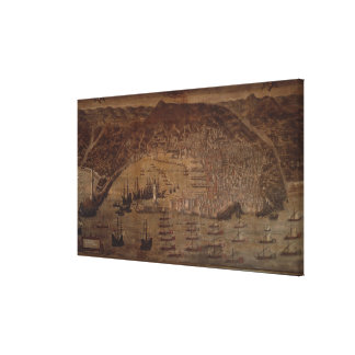 View of Genoa Canvas Print