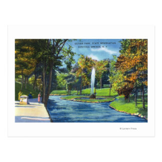 View of Geyser Park Postcard