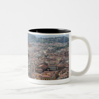 View of Giotto's Bell Tower (Campanile di Two-Tone Coffee Mug