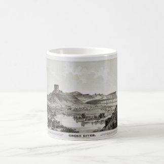 View of Green River, Wyoming Territory (1875) Coffee Mug