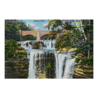 View of Haines Falls Poster