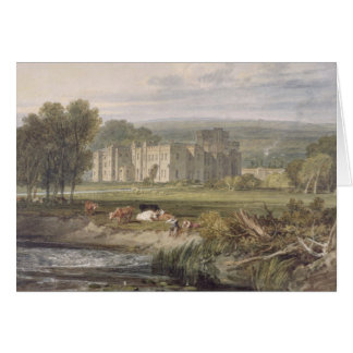 View of Hampton Court, Herefordshire, from the sou Card