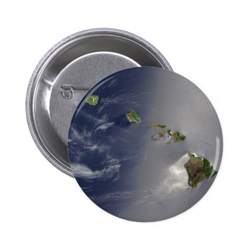 View of Hawaii from Space Button