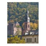 View of Heidelberg's Old Town 2 Postcard