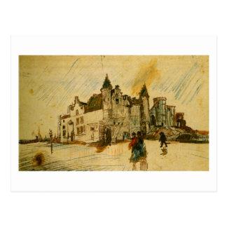 View of Het Steen (F1351) Van Gogh Fine Art Postcard