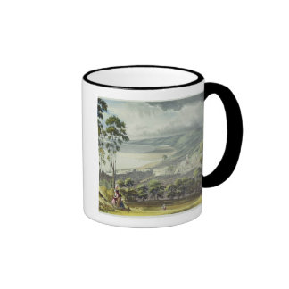 View of Honfleur, from 'Views on the Seine', engra Mugs