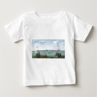 View of Hoorn: Hendrick Cornelisz Vroom Baby T-Shirt