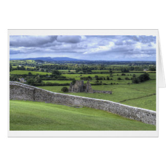 View of Hore Abbey From Rock of Cashel Card