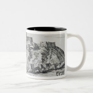 View of Lhasa, capital of Tibet Two-Tone Coffee Mug