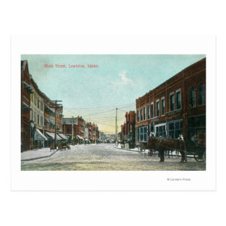 View of Main StreetLewiston, ID Postcard