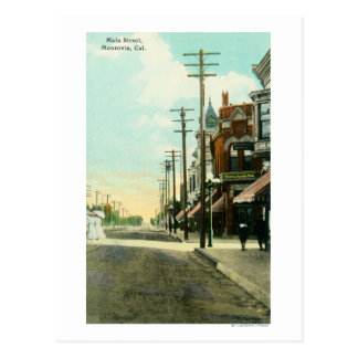 View of Main StreetMonrovia, CA Postcard