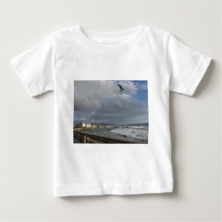 View of Mascagni terrace in a cloudy day Baby T-Shirt