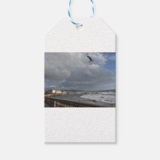 View of Mascagni terrace in a cloudy day Gift Tags