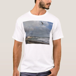 View of Mascagni terrace in a cloudy day T-Shirt