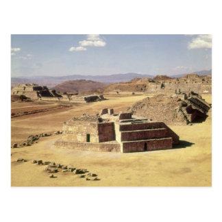 View of Mound J, built c.200 BC Postcard