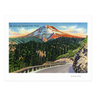 View of Mountain from Buzzards Point Postcard