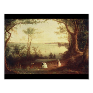View of New York Harbor from_Landscapes Poster