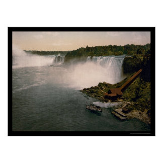 View of Niagara Falls 1898 Poster