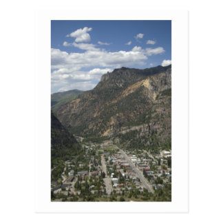 view of ouray postcard