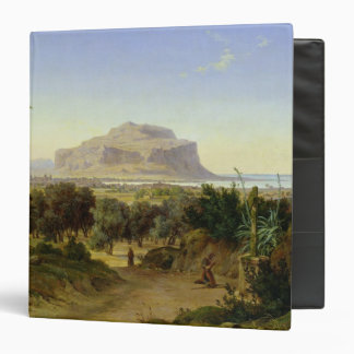 View of Palermo with Mount Pellegrino 3 Ring Binder