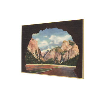 View of Park from Portal of Grandeur Canvas Print