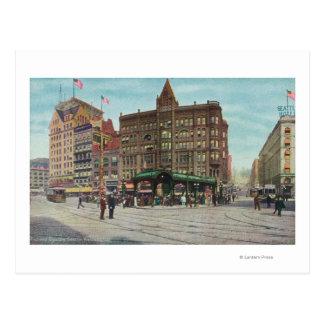 View of Pergola in Pioneer Square Postcard