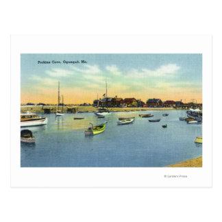 View of Perkins Cove Postcard