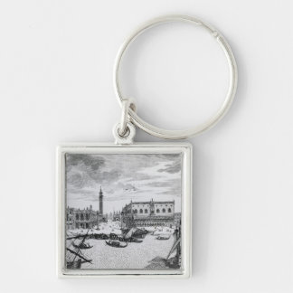 View of Piazza San Marco from the Bacino, Venice Keychain