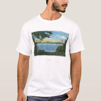 View of Pontoosuc Lake T-Shirt