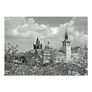 View of Prague from Streletsky Island. Photo Print