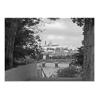 View of Prague from Vysehrad Photo Print