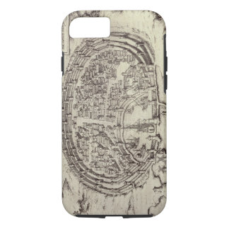 View of Rhodes, from 'Theatre of the Main Towns in iPhone 7 Case