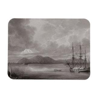 View of Rio de Manila (lithograph) Rectangular Photo Magnet