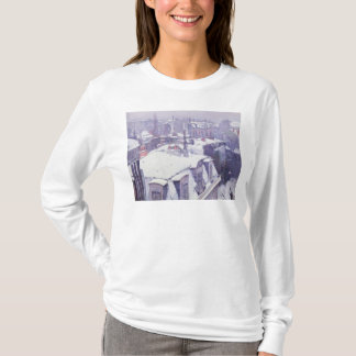 View of Roofs  or Roofs under Snow, 1878 T-Shirt