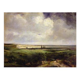 View of Rouen, 1831 Postcard