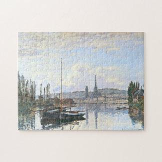 View of Rouen Monet Fine Art Jigsaw Puzzle