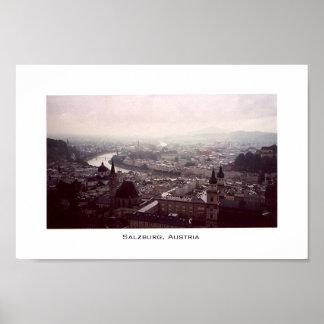 View of Salzburg Poster