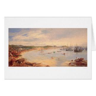 View of San Francisco, California Harbor (0575A) Card