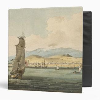 View of Santa Cruz, plate 3 from 'A Voyage to Coch Vinyl Binder